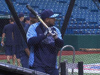 Tampa Bay Rays workout