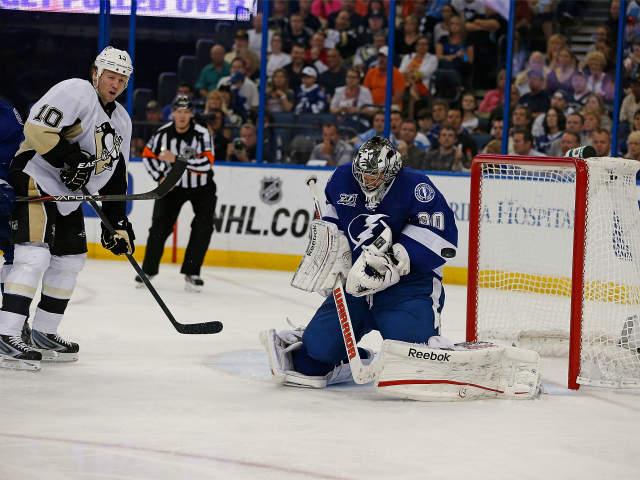 Jussi Jokinen Scores 2 Goals Pittsburgh Penguins Beat Tampa Bay Lightning 6
