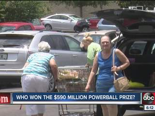 Looking for the Powerball winner in Zephyrhills