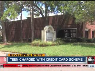Tampa teen caught with a bag of fraudulent credit cards and a list of patients' personal information