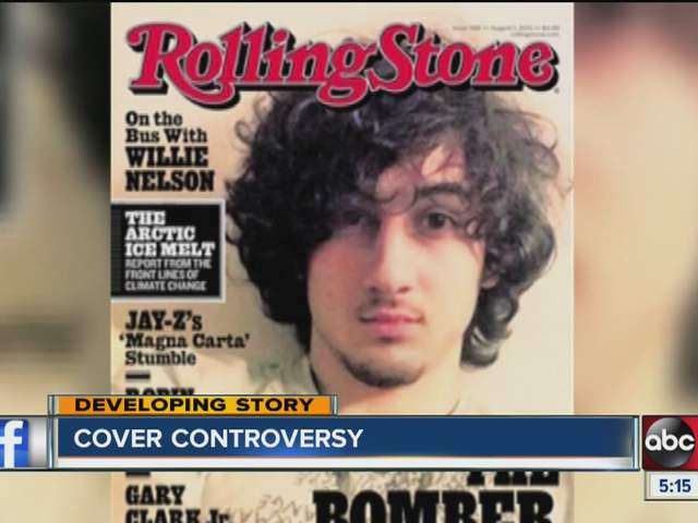 rolling stone cover features boston marathon The close-up of dzhokhar tsarnaev on the cover of rolling stone to hit a 'rolling stone' magazine with boston marathon bombings features a story about.