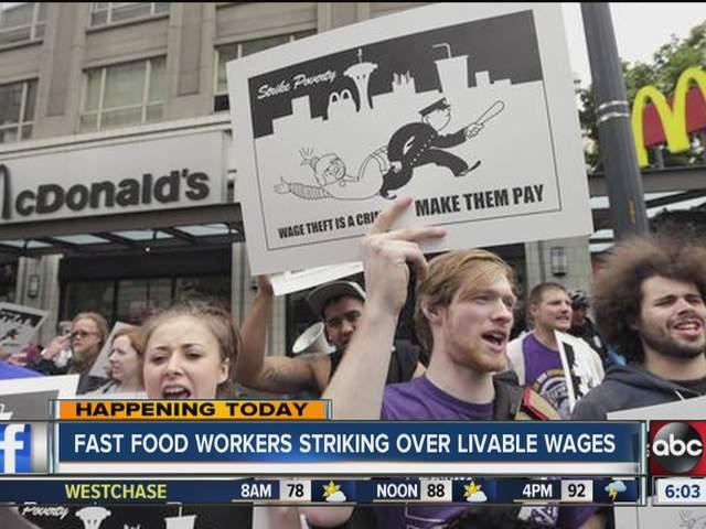 Tampa Fast Food Strike