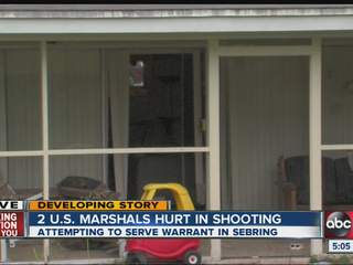Two in US Marshals task force injured