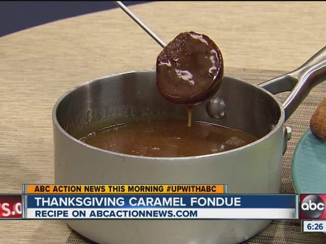 Thanksgiving caramel fondue recipe - abcactionnews.com WFTS-TV