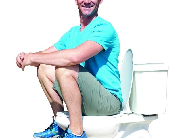 ... for using the toilet with a Squatty Potty. Credit: Squatty Potty