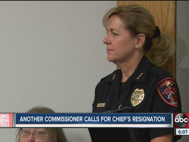 Chief lisa womack sucks