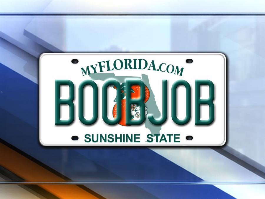 PHOTOS Vanity License Plates Denied In Florida