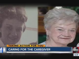 Manage your role as a parent's caregiver