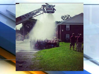 Firefighters critical after ice bucket challenge