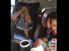 Boy's reaction to mom's pregnancy is priceless