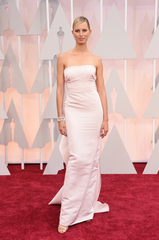 Red Carpet arrivals at the Academy Awards