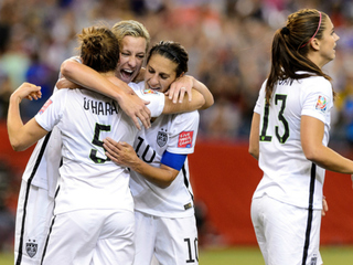 USA beats Germany 2-0, moves to World Cup final