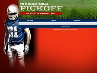 CONTEST: Pick college football winners