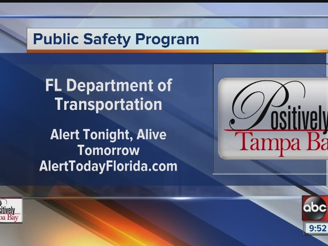 Positively Tampa Bay: Alert Tonight, Alive Tomorrow.