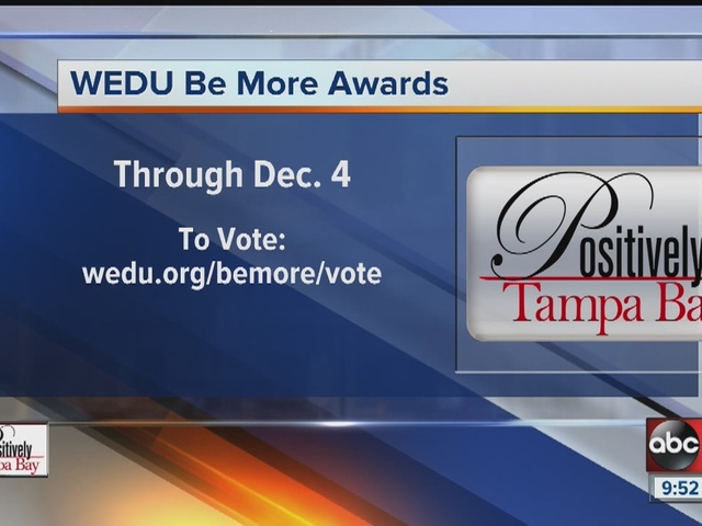 Positively Tampa Bay: BE MORE Awards