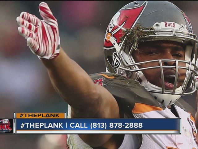 The Plank part 1 | Tampa Bay Buccaneers vs. Philadelphia Eagles