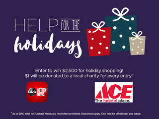 Help for the Holidays contest - win and give!