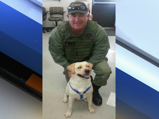 Troubled dog becoming FWC officer, companion