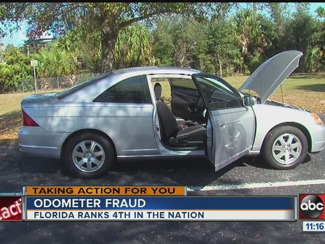 TAKING ACTION | Odometer fraud big in Florida