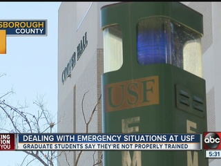 USF teachers want pay raise, crisis training