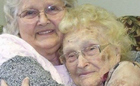 Woman, 82, tracks down & meets birth mother, 96