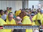 Hundreds protest I-275 express-lane proposal
