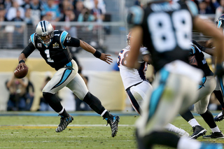 Defenses dominate, Broncos lead Panthers 13-7