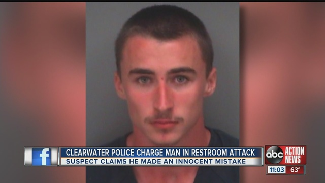 Clearwater police have arrested an 18 year old man wanted after his encounter with a young girl in a Countryside Mall women  39 s bathroom. Clearwater Police trying to identify man who assaulted girl  6  in