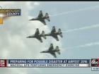 MacDill Air Force Base practices crash response