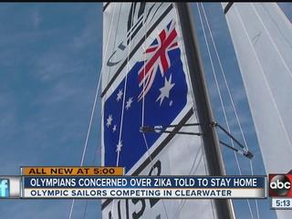 Sailors heading to Olympics talk Zika virus