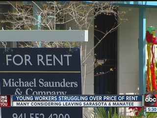 Survey: Sarasota rent prices too high