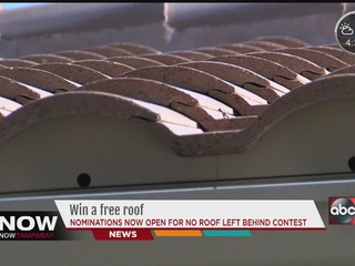 Win a free roof in Tampa Bay