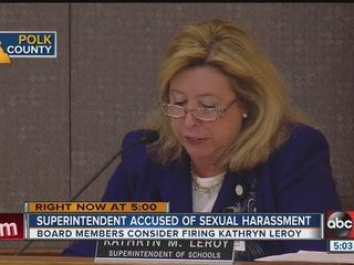 Polk Superintendent Kathryn LeRoy resigns