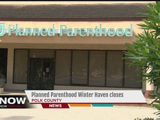 Planned Parenthood in Winter Haven shuts down