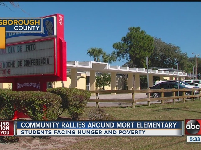 School community looks to tackle hunger, poverty