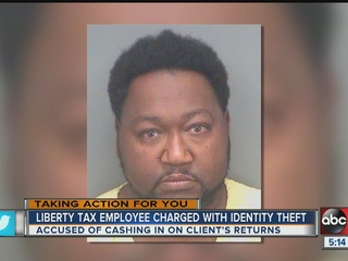 St. Pete tax preparer steals his client's return