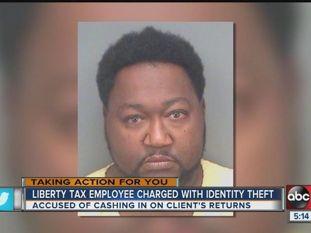 St. Pete tax preparer steals his client's return