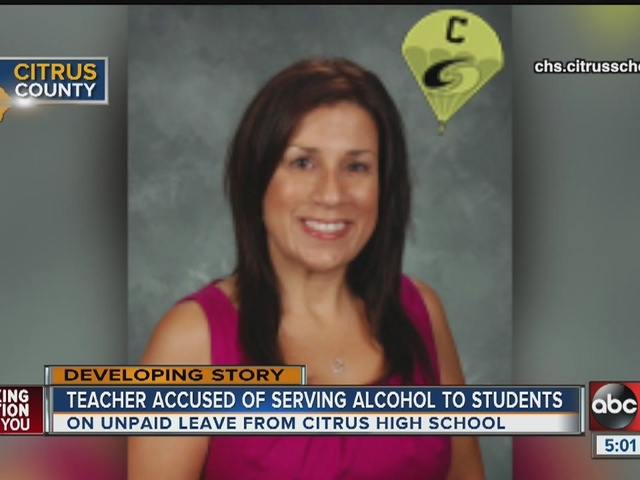 Teacher accused of giving students pot, sex tips