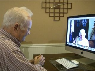 WWII vet reuintes with long-lost love