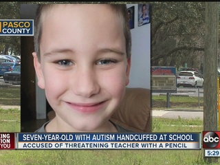 Pasco mom upset her autistic son was handcuffed