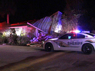 Truck crashes into Riverview home overnight