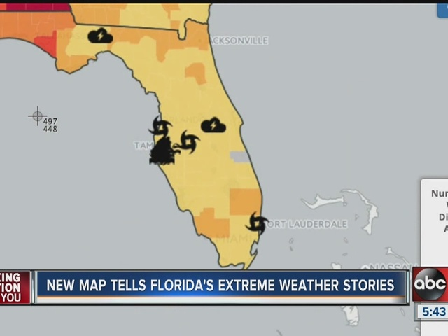 new map tells florida s extreme weather stories abcactionnews