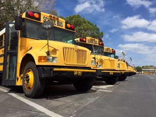 Pinellas School bus driver leaves child behind