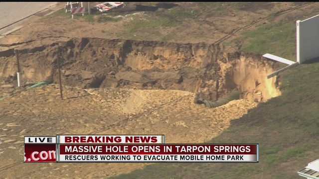 According To Authorities Residents In The Tarpon Shores Mobile Home Park Located On Rachel Drive Are Being Told Leave Their Homes