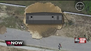 The Now Tampa Bay Explains Tarpon Springs Sinkhole
