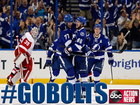 Bolts beat Red Wings 5-2 in game 2 of playoffs