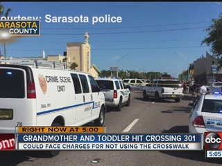 Boy, 1, struck by SUV while riding in stroller