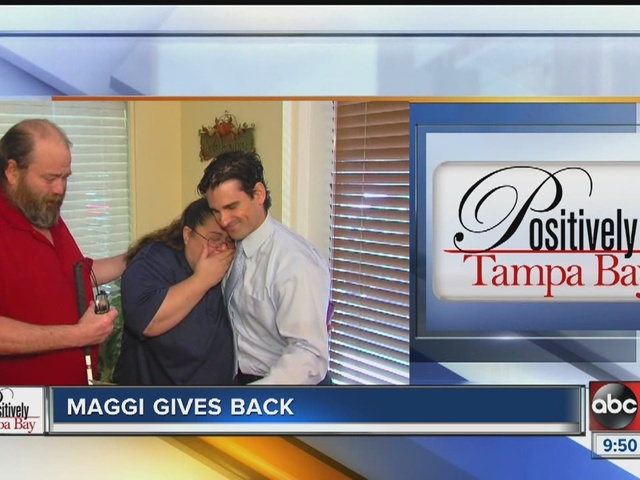 Positively Tampa Bay: Maggi Gives Back