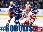 Bolts beat Red Wings 1-0 in game five