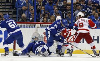 Lightning vs Red Wings, Game 5